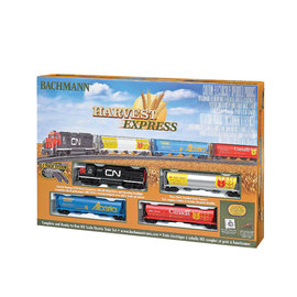 BACHMANN TRAINS BAC 00735 HARVEST EXPRESS TRAIN SET HO