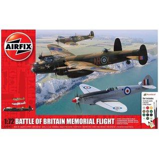 AIRFIX AIR A50182 BATTLE OF BRITAIN MEMORIAL FLIGHT MODEL KIT