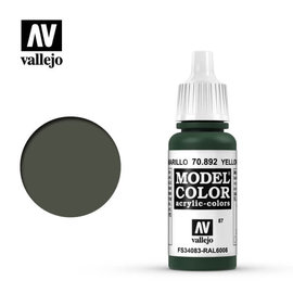 VALLEJO VAL 70892 Model Color: Yellow Olive