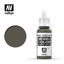 VALLEJO VAL 70893 Model Color: US Dark Green