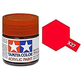 TAMIYA TAM X27 CLEAR RED