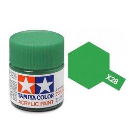 TAMIYA TAM X28 PARK GREEN