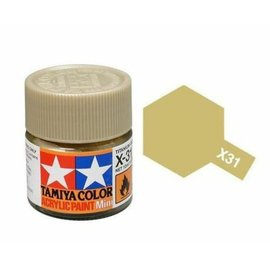 TAMIYA TAM X31 TITANIUM GOLD