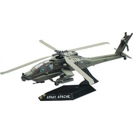 REVELL USA RMX 851183 SNAPTITE AH-64 APACHE HELICOPTER 1/72