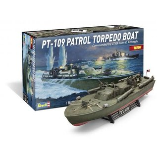 REVELL USA RMX 850319 1/72 PT109 Torpedo Boat JFK MODEL KIT