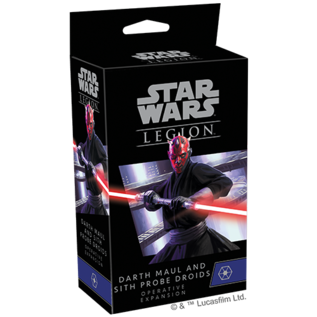 FANTASY FLIGHT FFG SWL76 DARTH MAUL AND SITH PROBE DROIDS OPERATIVE EXPANSION
