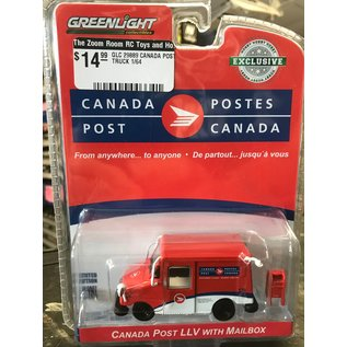 GREENLIGHT COLLECTABLES GLC 29889 CANADA POST TRUCK 1/64 DIECAST