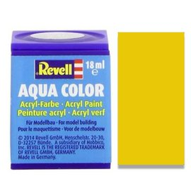 REVELL GERMANY REV 36112 YELLOW GLOSS 18ml PAINT POT