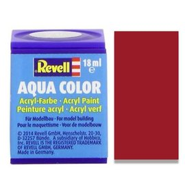 REVELL GERMANY REV 36134 ITALIAN RED GLOSS 18ml PAINT POT