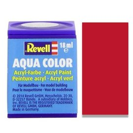 REVELL GERMANY REV 36136 CARMINE RED MATT 18ml PAINT POT