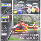 REVELL GERMANY REV 64986 EC-135 AIR-GLACIERS AIRBUS HELICOPTER 1/72 COMPLETE SET