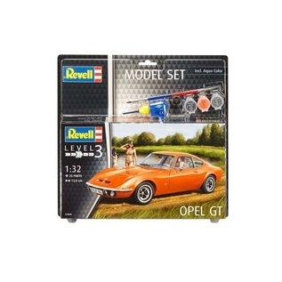 REVELL GERMANY REV 67680 OPEL GT MODEL SET 1:32 SCALE