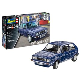 "REVELL GERMANY REV 07673 VW GOLF GTI ""BUILDERS' CHOICE"" 1/24 MODEL KIT"