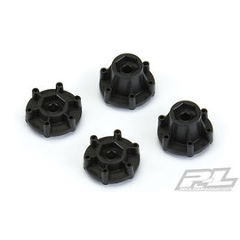 """Proline Racing PRO 6335-00 6x30 to 12mm Hex Adapters, for Proline 6x30 2.8"""" Wheels"""