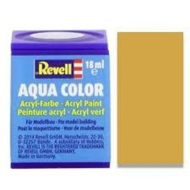 REVELL GERMANY REV 36192 BRASS METALLIC 18ml PAINT POT