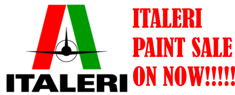 ITALERI PAINT SALE