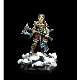 REAPER REA 04010 HANEI, FEMALE WARRIOR METAL FIGURE