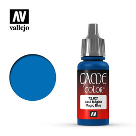 VALLEJO VAL 72021 Game Color: Magic Blue