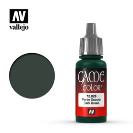 VALLEJO VAL 72028 Game Color: Dark Green