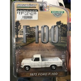 "GREENLIGHT COLLECTABLES GLC 30217 1973 FORD F-100 ""UNCLE JESSE"" (WHITE - WEATHERED)"