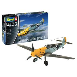 REVELL GERMANY REV 03893 MESSERSCHMITT BF109 F-2 1/72 MODEL KIT