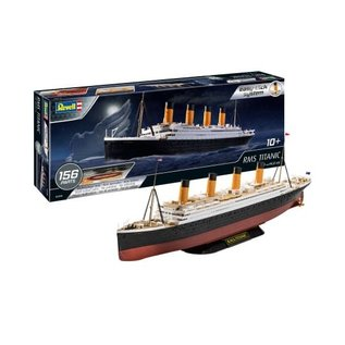 REVELL GERMANY REV 05498 SNAP KIT 1/600 TITANIC MODEL KIT