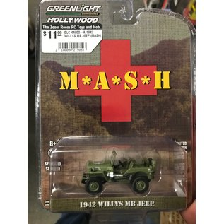 GREENLIGHT COLLECTABLES GLC 44900-A 1942 WILLYS MB JEEP (MASH)