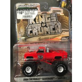 GREENLIGHT COLLECTABLES GLC 49080-E 1984 Chevrolet Silverado SAMSON 1 SERIES 8