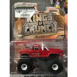 GREENLIGHT COLLECTABLES GLC 49080-C 1978 Ford F-250 FIRST BLOOD SERIES 8