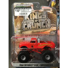 GREENLIGHT COLLECTABLES GLC 49080-A 1968 CHEVROLET K-10 SUPERWRECKER SERIES 8