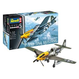 REVELL GERMANY REV 03944 1/32 P-51D-5 Mustang EARLY VERSION