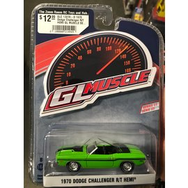 GREENLIGHT COLLECTABLES GLC 13270-D 1970 Dodge Challenger R/T HEMI GL MUSCLE SERIES 23