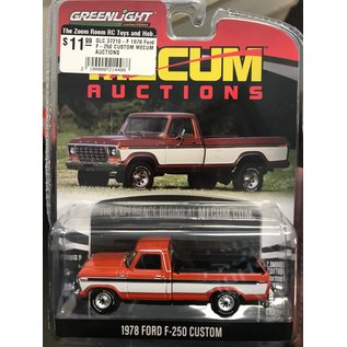 GREENLIGHT COLLECTABLES GLC 37210-F 1978 Ford F-250 CUSTOM MECUM AUCTIONS