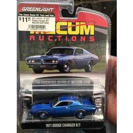 GREENLIGHT COLLECTABLES GLC 37210-D 1971 Dodge Charger R/T MECUM AUCTIONS