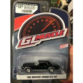 GREENLIGHT COLLECTABLES GLC 13270-B 1968 MERCURY COUGAR GT-E 427 GL MUSCLE SERIES 23