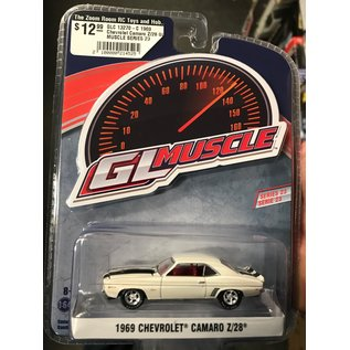 GREENLIGHT COLLECTABLES GLC 13270-C 1969 Chevrolet Camaro Z/28 GL MUSCLE SERIES 23