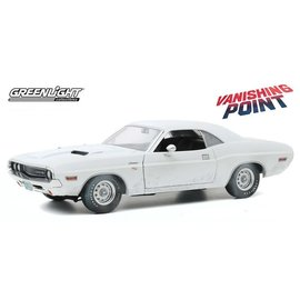 GREENLIGHT COLLECTABLES GLC 13582 1970 Dodge Challenger R/T WEATHERED VERSION VANISHING POINT 1/18 DIECAST