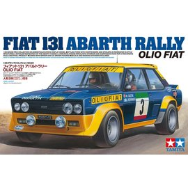 TAMIYA TAM 20069 FIAT 131 ABARTH RALLY OLIO FIAT KIT 1/20 SCALE