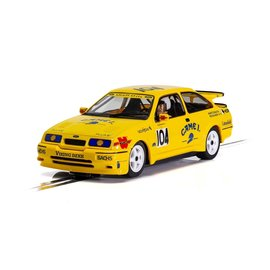 SCALEXTRIC SCA C4155 FORD SIERRA RS500 NO.104 CAME 1ST YELLOW