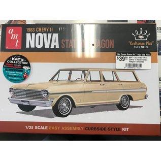 AMT AMT 1202 1/25 1963 Chevy II Nova Station Wagon Craftsman