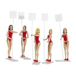 CARRERA CAR 21113 GRID GIRLS Carrera 21113 Grid Girls, 1:32 scale - Digital 124/132 & Analog