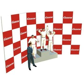 CARRERA CAR 21121 WINNER'S ROSTRUM WITH SET OF FIGURES
