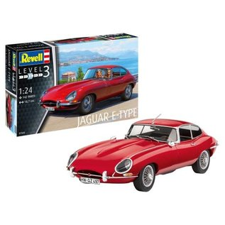 REVELL GERMANY REV 07668 JAGUAR E-TYPE KIT 1/24