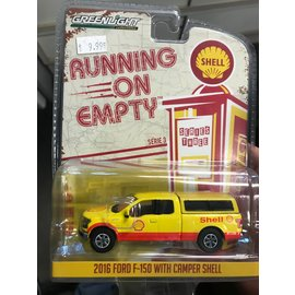 GREENLIGHT COLLECTABLES GLC 41030-E FORD F-150 WITH CAMPER SHELL 2016