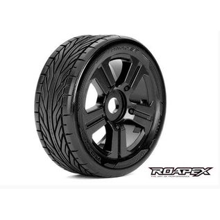 ROAPEX ROP R5001-B TRIGGER MOUNTED 1/8 BUGGY WHEEL/TIRE 17MM HEX
