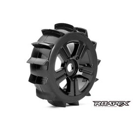 ROAPEX ROP R5004-B PADDLE MOUNTED 1/8 BUGGY WHEEL/TIRE 17MM HEX