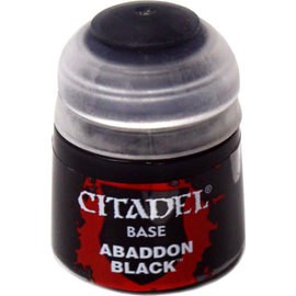 GAMES WORKSHOP WAR 2125 ABADDON BLACK BASE