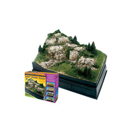 WOODLAND SCENICS WOO SP4111 Scene-A-Rama Mountain Diorama Kit