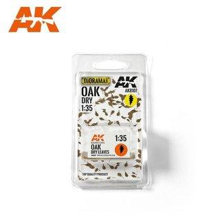 AKI 8107 OAK DRY LEAVES 1/35
