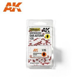 AKI 8106 RED OAK AUTUMN LEAVES 1/35